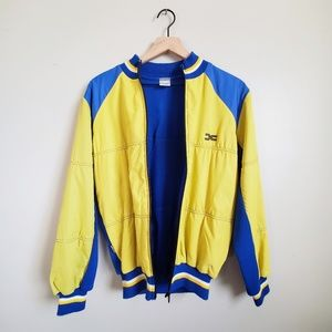 Decca Yellow and Blue Bomber